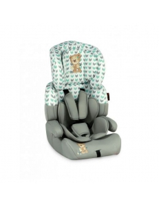 Фото Автокресло Bertoni JUNIOR+ (9-36кг) (grey&green cute bear)