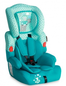 Фото Автокресло Bertoni KIDDY (9-36кг) (dark&light aquamarine)