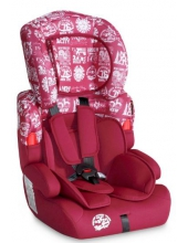 Автокресло Bertoni KIDDY (9-36кг) (red)