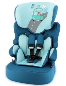 Фото Автокресло Bertoni X-DRIVE+ (9-36кг) (aquamarine dog driver)