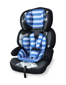 Фото Автокресло Bertoni JUNIOR PREMIUM (9-36кг) (black&blue stars)