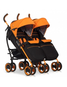 Фото Коляска для двойни Easy Go Duocomfort Orange
